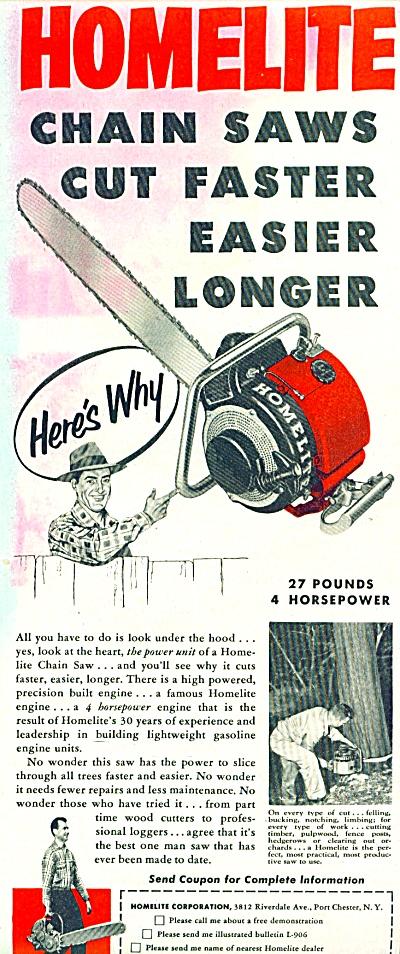 Home.lite chadin saws ad 1952 (Image1)