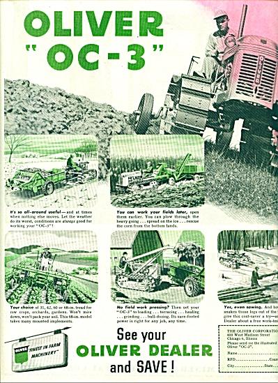 Oliver Corporation - OC ad (Image1)