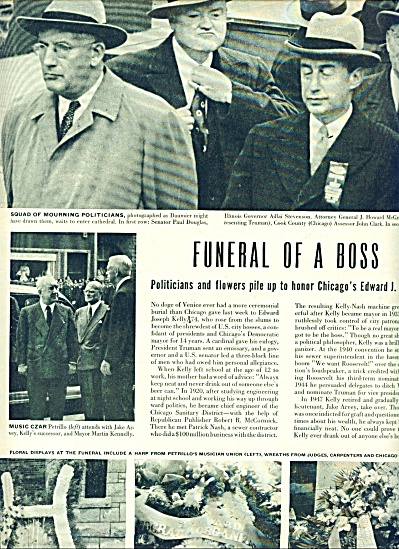 Funeral of a boss- Chicago's Edward J. Kelly (Image1)