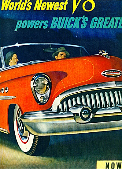 Buick automobile ad 1953 (Image1)