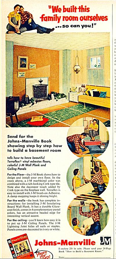 Johns-Manville Terraflex vinyl Asbestos floor (Image1)