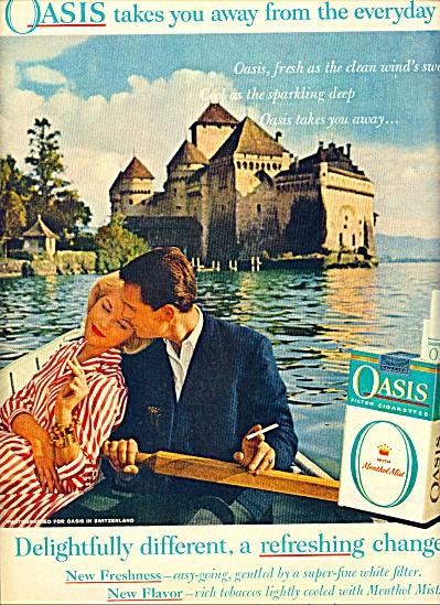 Oasis cigarettes ad (Image1)
