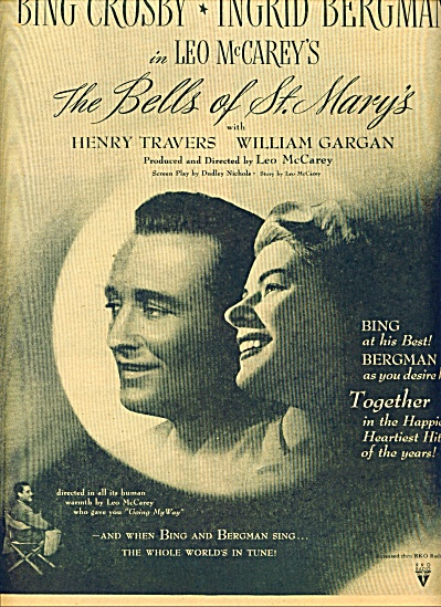 Movie AD PROMO The Bells of St. Mary's - BING CROSBY (Image1)