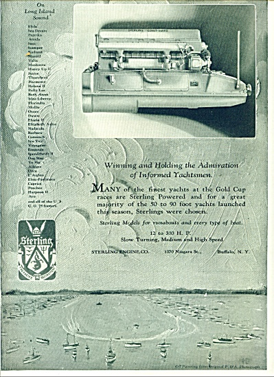 Sterling Engine Company ad 1926 (Image1)