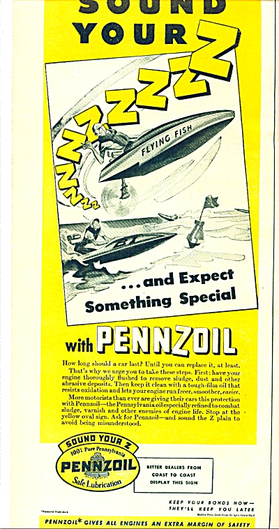 Pennzoil oil  ad (Image1)
