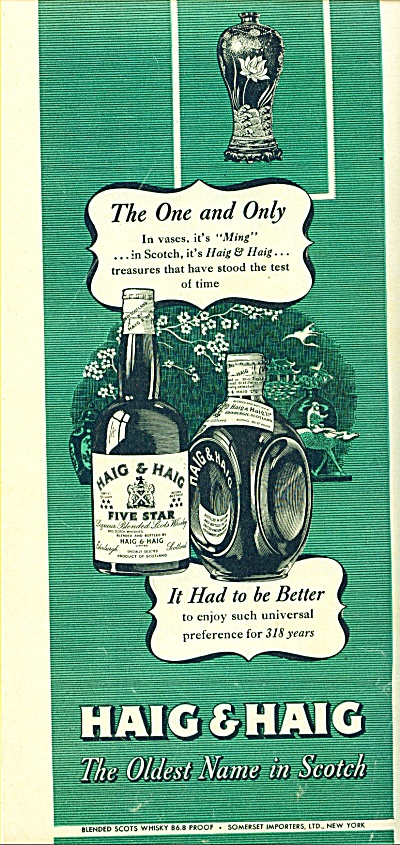 Haig & Haig scotch ad (Image1)