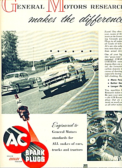 AC spark plugs ad 1953 (Image1)