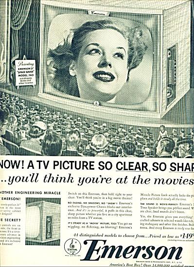 Emerson television ad 1953 (Image1)