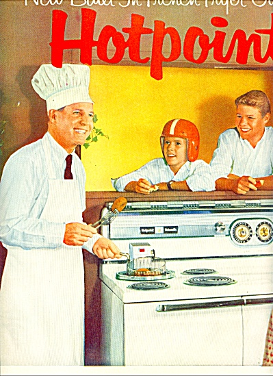 Hotpoint appliances - OZZIE & HARRIET NELSON (Image1)