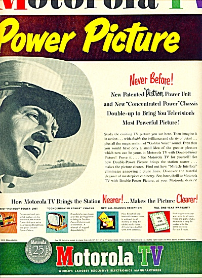 Motorola TV ad 1953 (Image1)