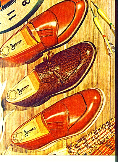 1953 Jarman Men's SHOE AD Design VINTAGE (Image1)