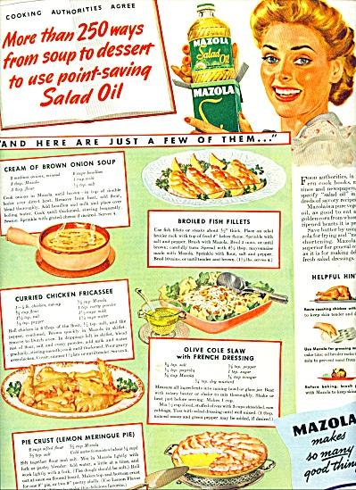 Mazola salad oil ad 1944 (Image1)