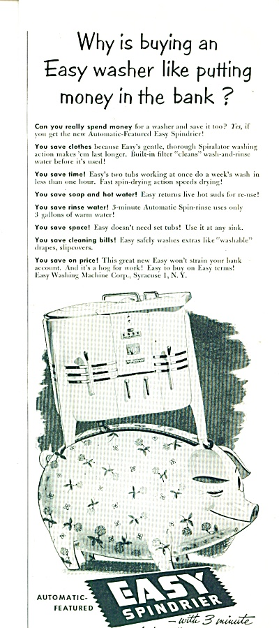 Easy spindrier  ad 1952 (Image1)