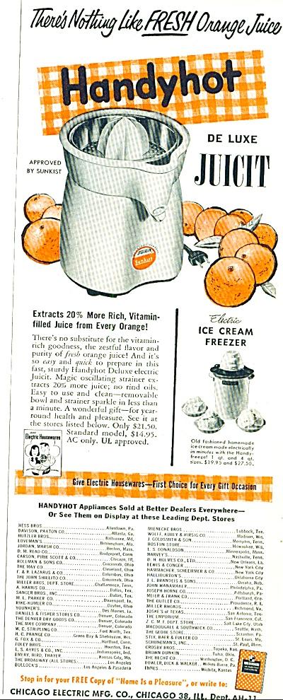 Handyhot de luxe juicit ad 1952 (Image1)