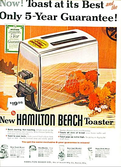 Hamilton Beach toaster ad 1956 (Image1)