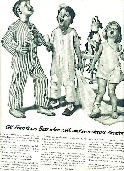 Listerine ad 1944 Frances Tipton Hunter (Image1)