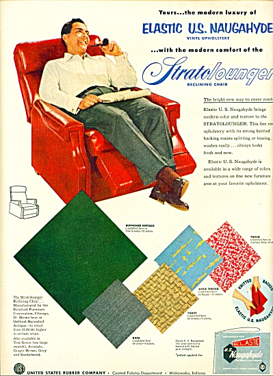 Strato lounger reclining chair ad 1953 (Image1)