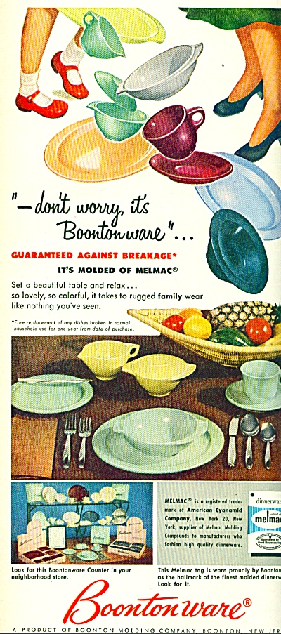 Boontonware ad 1953 (Image1)
