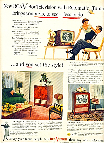 RCA Victor television ad 1953 (Image1)