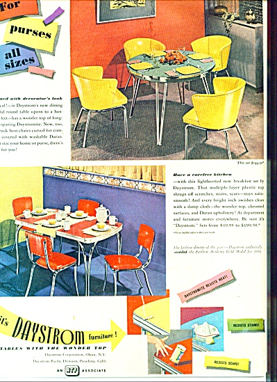 Daystrom furniture ad 1953 (Image1)