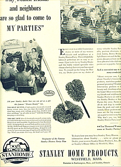 Stanley Home products, Inc. ad 1950 (Image1)
