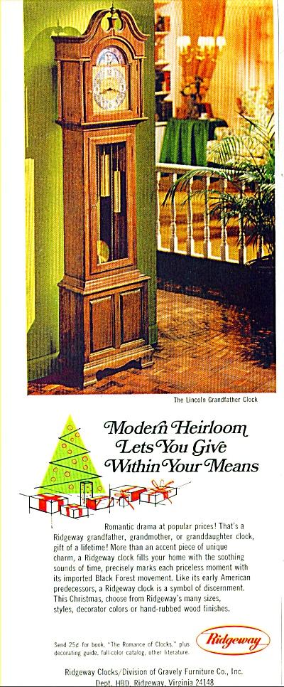 Ridgeway clocks ad (Image1)