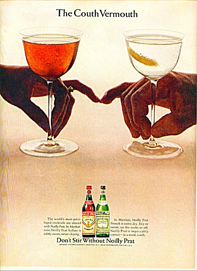 Noilly Prat French vermouth ad (Image1)