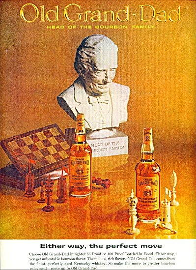 Old Grand Dad bourbon shiskey ad (Image1)