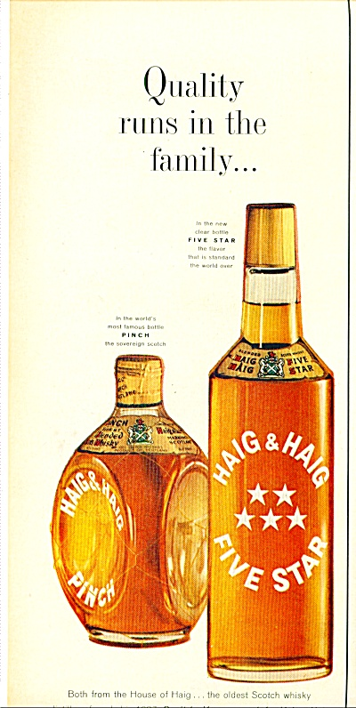 Haig And Haig Five Star Scotch Whiskey Ad
