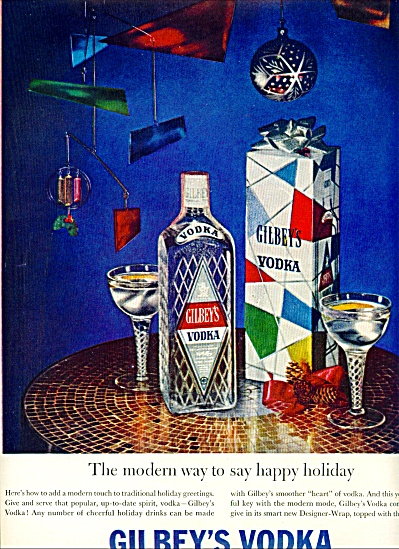 Gilbey's Vodka ad 1959 (Image1)