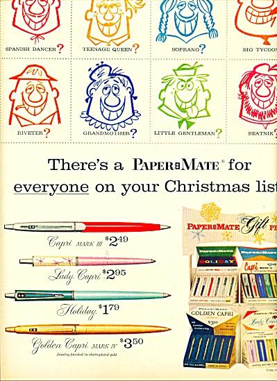 Paper Mate pens  1959 (Image1)