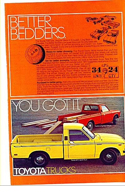 Toyota trucks ad 1977 (Image1)