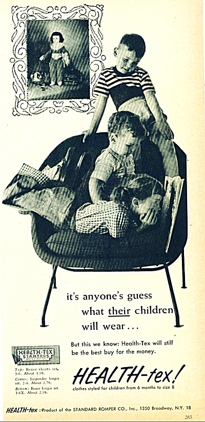 Health-tex clothes for children ad (Image1)