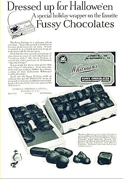 Whitman's fussy chocolates ad (Image1)