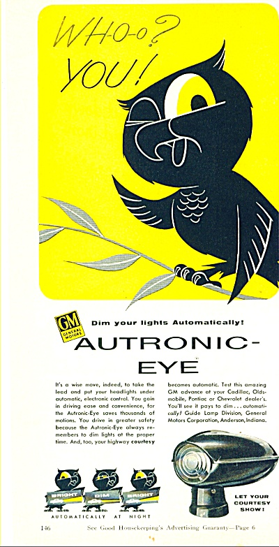 Autronic eye headlights ad (Image1)