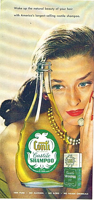Conti castile Shampoo ad 1947 (Image1)