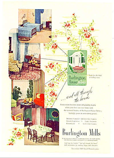 Burlington Mills ad 1947 (Image1)