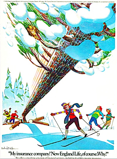 New England Life Insurance ad 1978 (Image1)