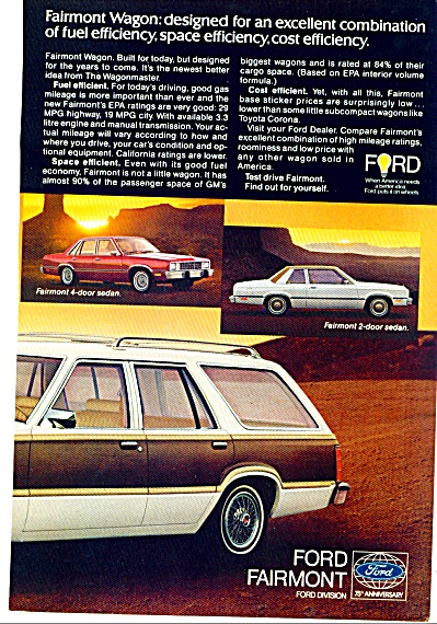 Ford Fairmont ad 1977 (Image1)