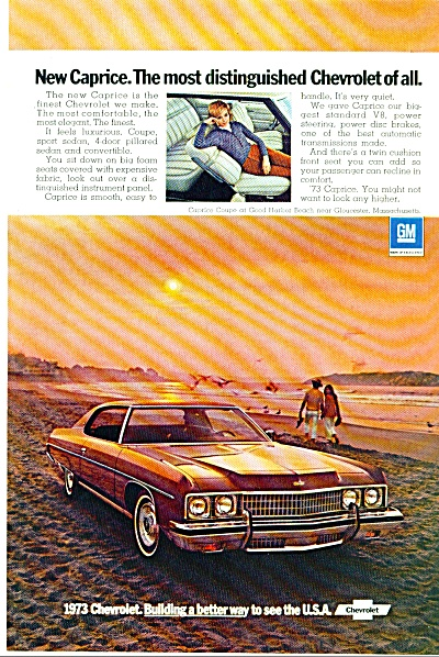1973 Chevrolet CAPRICE Car AD Gloucester MA (Image1)