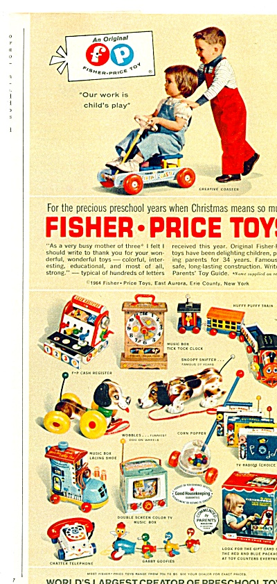Fisher-Price toys ad (Image1)