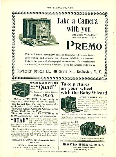 Premo camera, Quad camera & Manhattan optical (Image1)