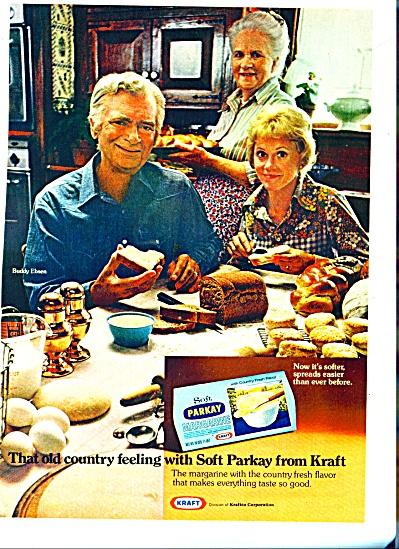 Kraft Parkay margarine- BUDDY EBSEN  ad (Image1)