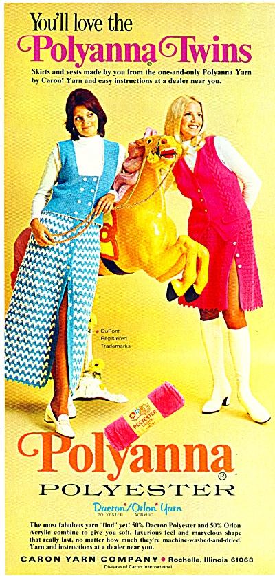 1973 Polyanna FASHIONS AD Caron MODELS (Image1)