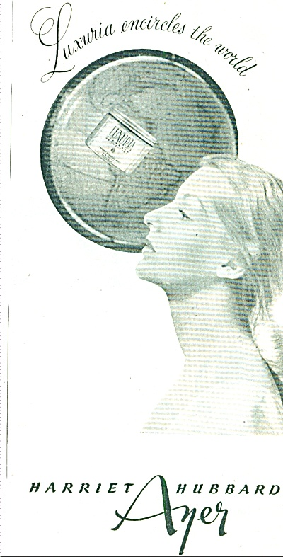 1945 Harriet Hubbard AYER AD LUXURIA (Image1)
