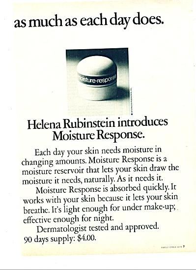 1973 Helena Rubinstein AD MODEL AD (Image1)