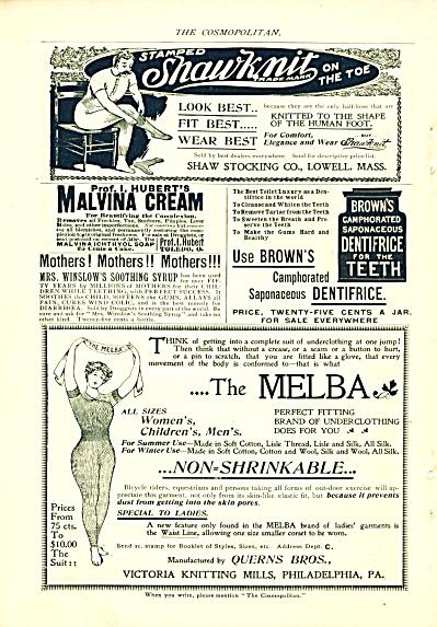 Shaw stocking co. =- Malvina cream -The Melba (Image1)