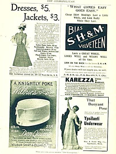 1894 Karezza Wilbur  Ypsilanti Underwear 4 AD (Image1)