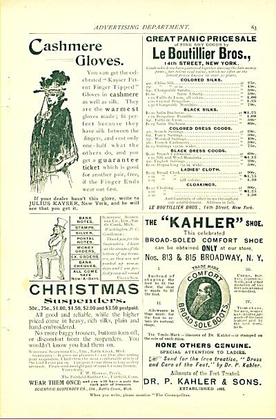 1894 Cashmere Gloves - Vintage Clothing 4 ADS (Image1)