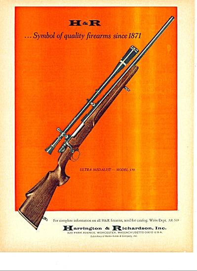 Harrington & Richardson Inc. H & R ad 1967 (Image1)